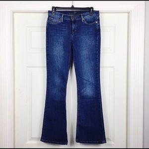 Joe's Jeans Provocateur Dark Wash Wide Leg 27